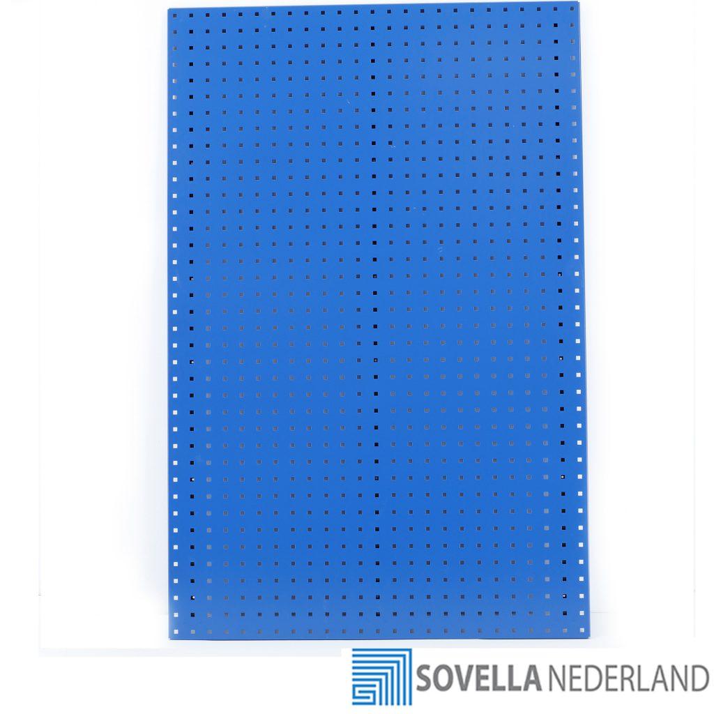 Sovella Nederland Treston gereedschapsbord 1x1,5 meter aanschroefbaar voor in de werkplaats, zonder gereedschapshaken voor gereedschappen